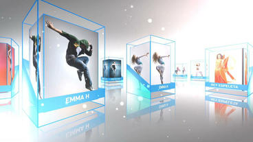 Cubic Business Template After Effects Template