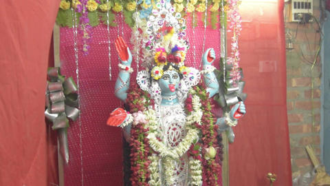 Idol of Goddess Kali - Kali mata Archivo