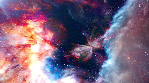 Space 3 4k Animación