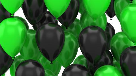 Balloons Flying Up Animación
