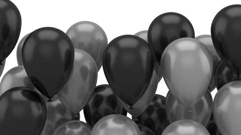 Balloons Flying Up Animation