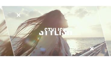 Stylish Slideshow Plantilla de After Effects
