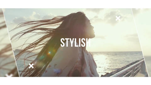 Stylish Slideshow After Effects Template