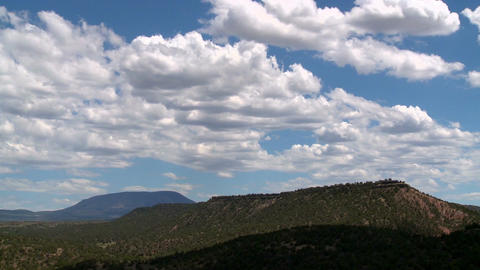 Clouds over terrain Live Action