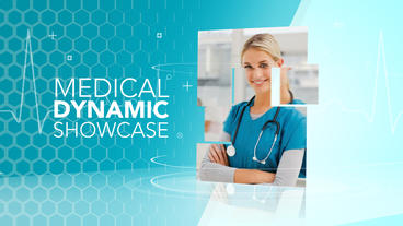 Medical Dynamic Showcase - Apple Motion and Final Cut Pro X Template Apple Motionテンプレート
