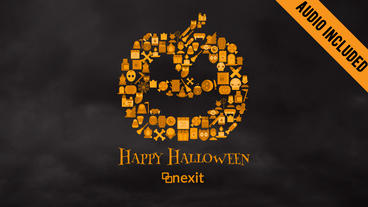 Halloween Collage After Effects Template