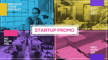 Company Startup Slideshow After Effects Template