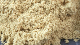 Kinetic sand close-up. Kinetic sand heap for children Image