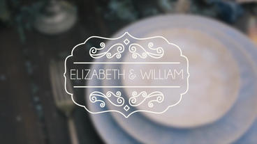 Wedding Titles Vintage 1