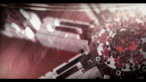 3D Sci Fi Logo (Red) After Effectsテンプレート