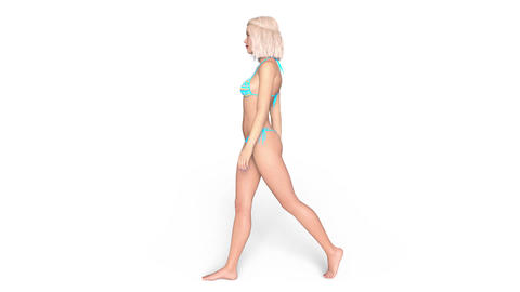 Walking Women Animation