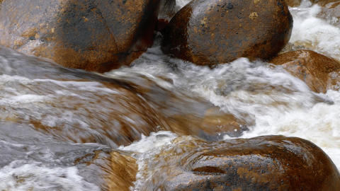Streaming River, Glen Etive, Scotland Live-Action