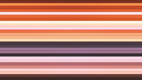 Broadcast Twinkling Horizontal Hi-Tech Bars, Brown, Abstract, Loopable, 4K Animation