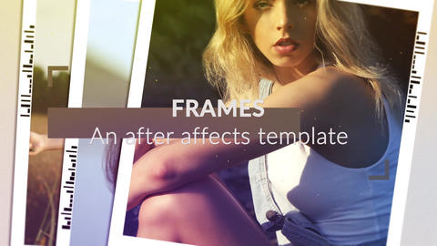 Frames After Effects Template