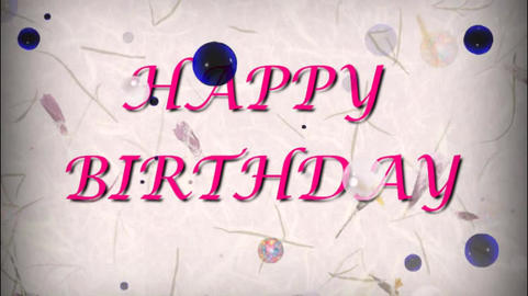Happy birhtday Animation