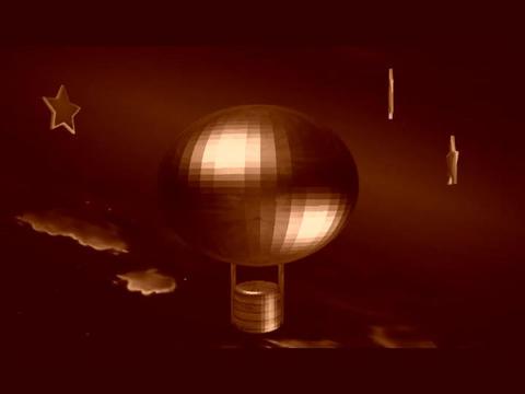 Air Baloon Retro Animation