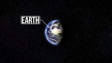 Earth Zoom From Space Premiere Pro Template