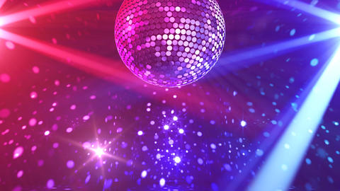 Mirror Ball 2 x 2 DL 07 HD Stock Video Footage
