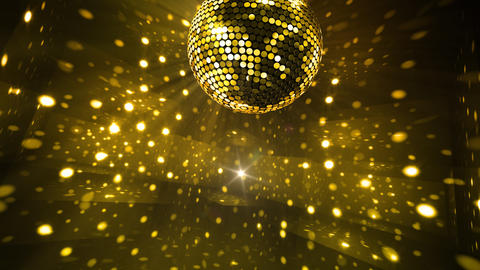 Mirror Ball 2 x 2 DL 11 HD Stock Video Footage