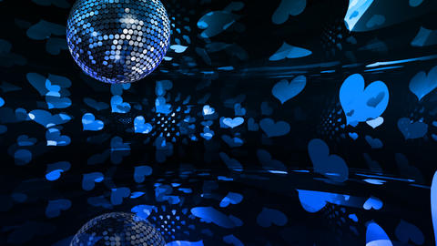 Mirror Ball 2 x 2 DL 19 HD Stock Video Footage