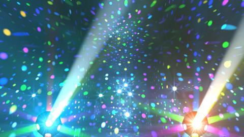 Mirror Ball 2 x 2 DL 25 HD Stock Video Footage