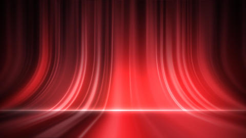 Stage Curtain 5 Ac 1 HD Stock Video Footage