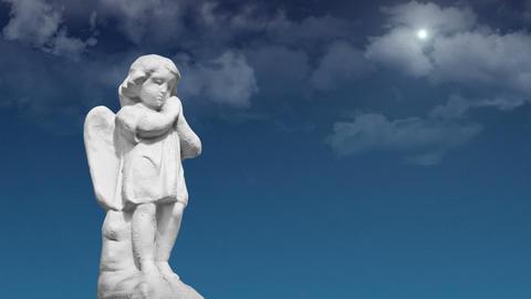 Praying Angel Stock Video Footage