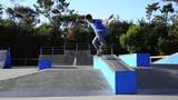 Skateboarder on a grind Footage