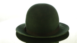 Green vintage hat Footage