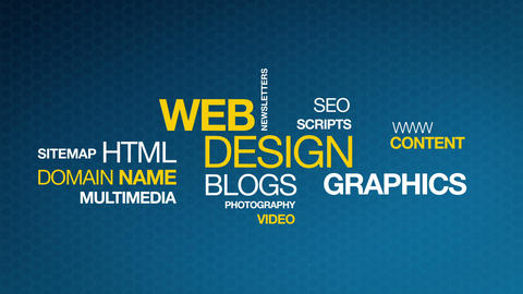 Web Design Stock Video Footage