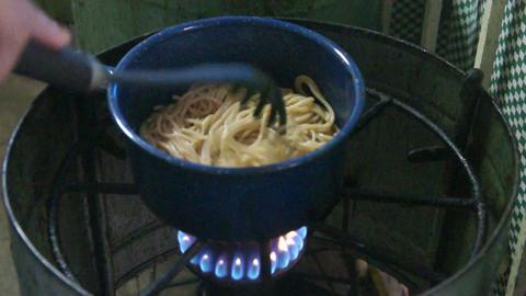 Spaghetti Stock Video Footage