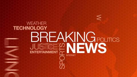 Breaking News Stock Video Footage