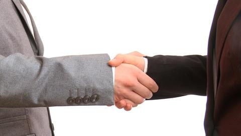 Handshake Stock Video Footage