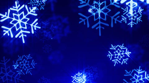 Loopable shine christmas background Stock Video Footage