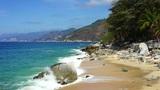 Tropical Coastline Footage