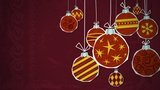 Baubles Cluster Loop HD stock footage