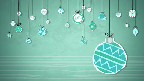 Christmas Background Loops 1
