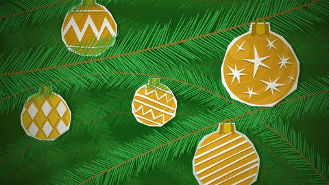 Christmas Tree Loop HD Animation