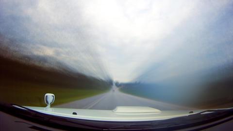 Smooth highway loop Stock Video Footage