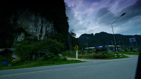 Thailand roads Stock Video Footage