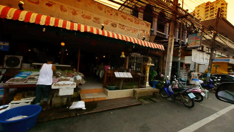 Thailand streets Stock Video Footage