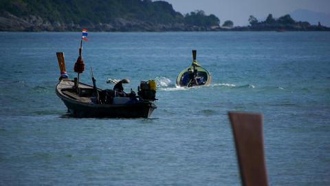 Village of fishermen Stock Video Footage