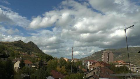 Kosovska Mitrovica Zvecan Stock Video Footage