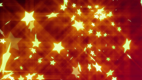 HD Looping Stars Animated Background Animation