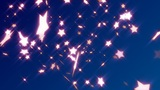 HD Loopable Falling Stars Animated Background Animation