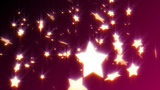 HD Loopable Falling Stars Animated Background stock footage
