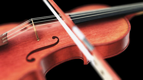 Violin Stock Video Footage