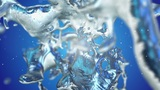Abstract form of water Animation