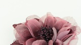Pink fabric flower Footage
