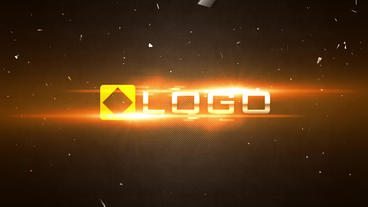 Slow Motion Fire Light Flares Shatter Logo Reveal Intro After Effects Project